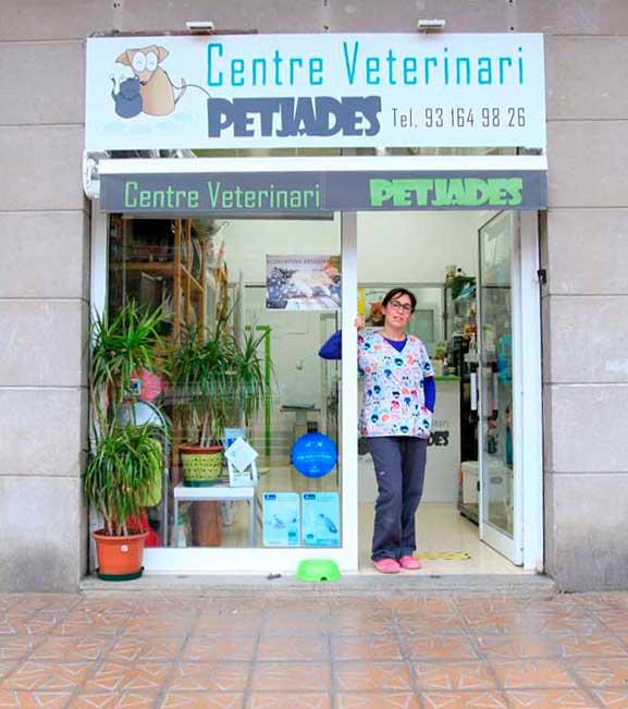 centro-veterinario-Petjades-en-Barcelona